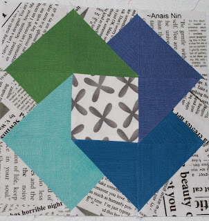 Gypsy Wife Colour Wheel Block