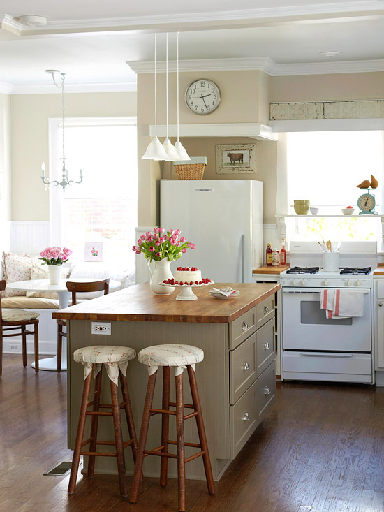 Kitchen Island Decorating Ideas Modern Furniture: Small Kitchen Decorating Design Ideas 2011