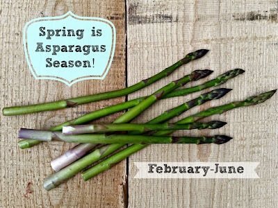 Asparagus season - cream of asparagus soup