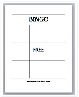 Learning ideas grades k 8 multiplication bingo game for 4x4 bingo template