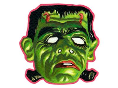 Frankenstein ilustrado por David Pugliese