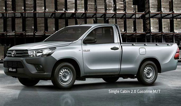 all new toyota hilux single cabin