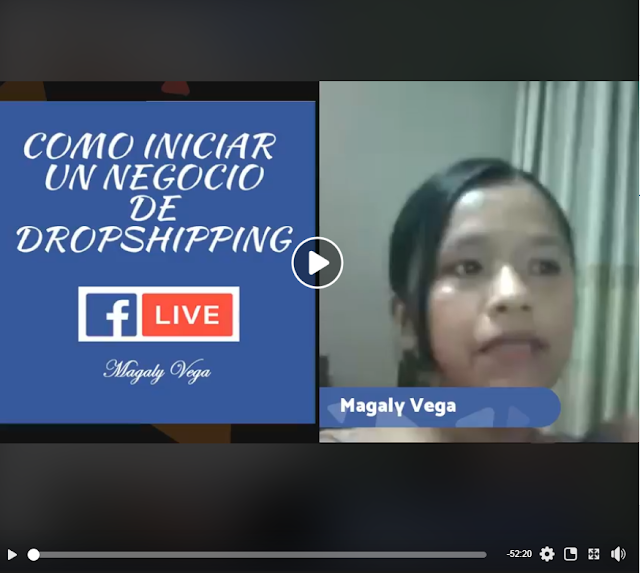 facebook live dropshipping magaly vega