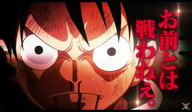 New promotional videos for One Piece 1 hour episode comparing Luffy and Sanji's fight with the greatest fights in the History