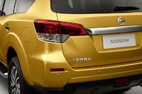 Nissan Terra (2018) Rear Side Detail