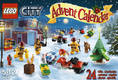 Lego City Advent Calendar 2012