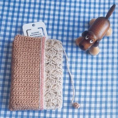 Estuche Neceser Crochet Patron