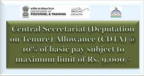Revised-rate-of-Central-Secretariat-Deputation-on-Tenure-Allowance