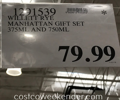 Deal for the Home Mixologist Classic Manhattan Cocktail Kit at Costco