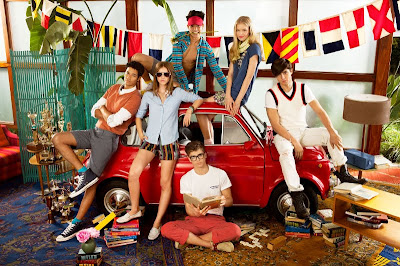 TOMMY HILFIGER S/S 2011 CAMPAIGN by DOUG INGLISH ft. River Viiperi
