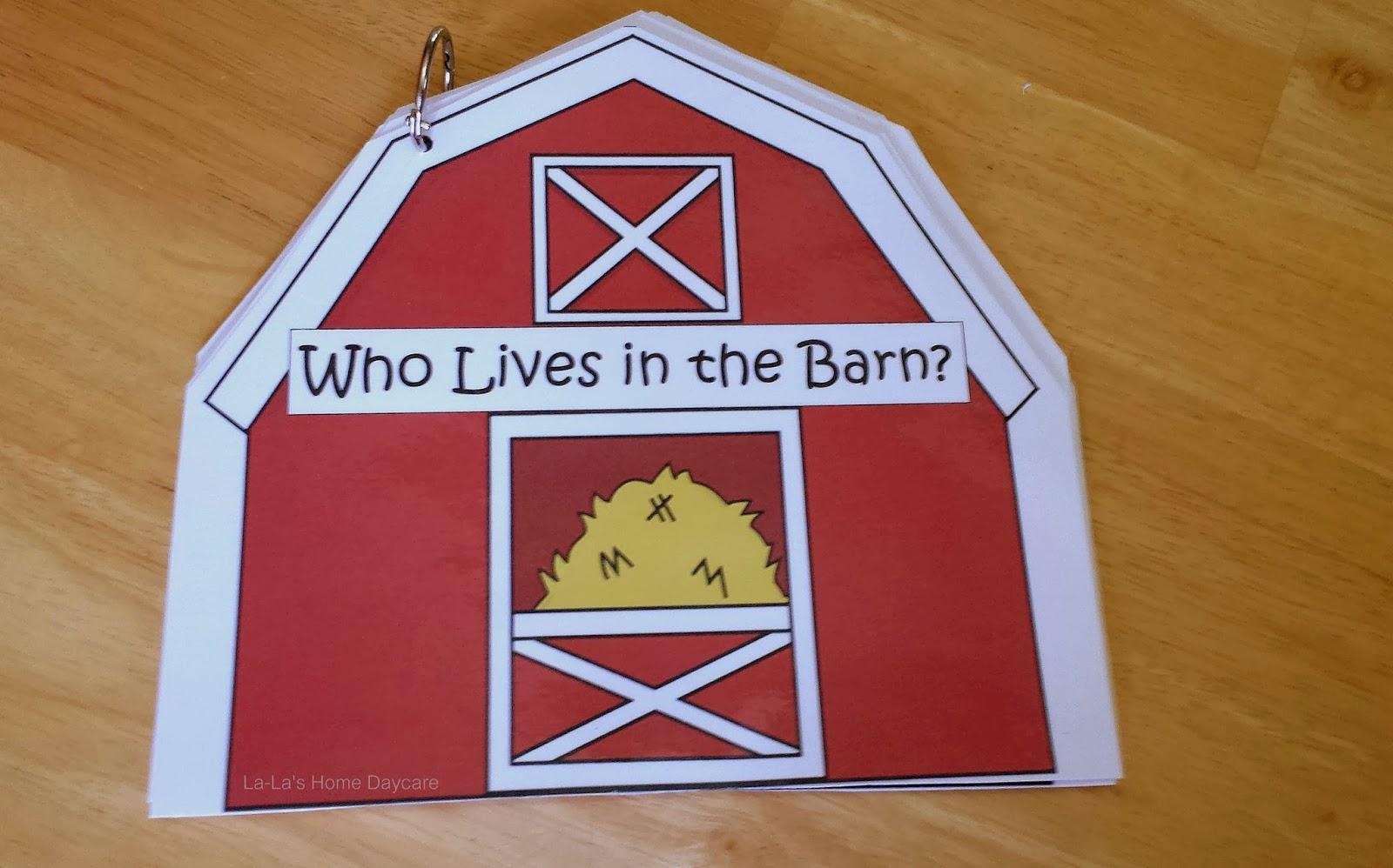 La La S Home Daycare Farm Week