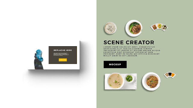 Free Infographic Food Scene Creator Powerpoint Template Slide 4