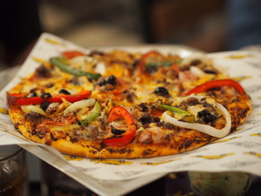 Food: Yellow Cab Pizza Co. Singapore