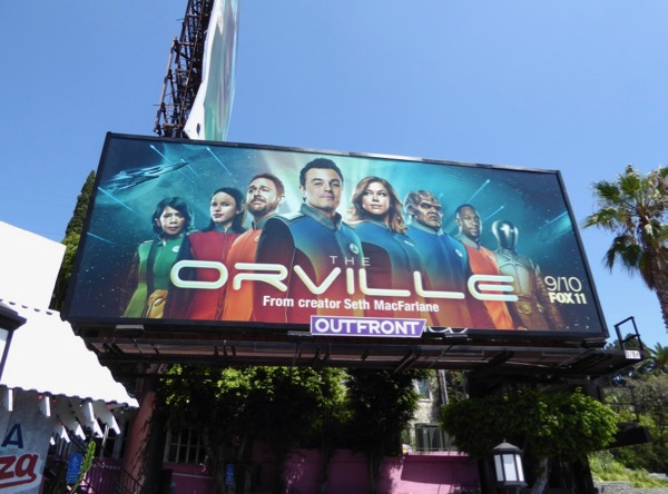 Orville season 1 billboard