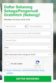 GrabHitch, Peluang Penghasilan Tambahan dari Grab