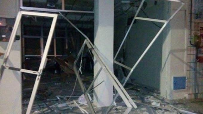 Grupo explode agência bancária em Ocara