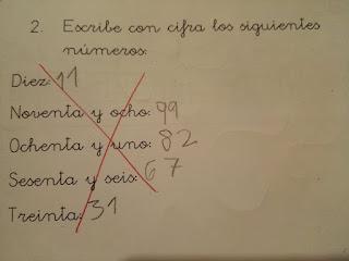 Un ejercicio de matemáticas viral por la respuesta del niño