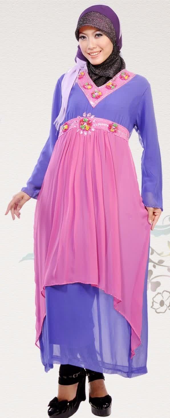 Model Busana Muslim Untuk Orang Gemuk