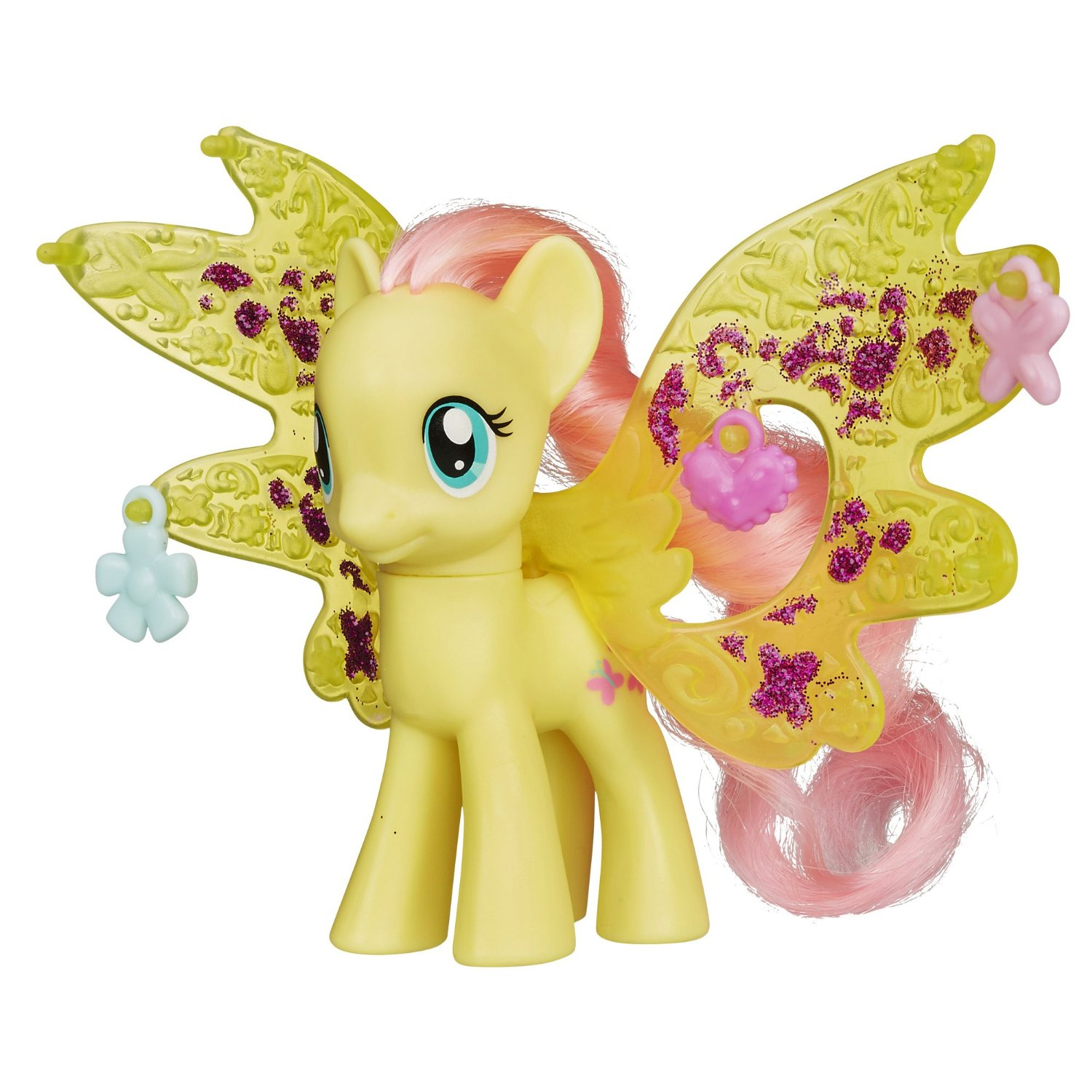Cutie Mark Magic Charm Wings Fluttershy Brushable