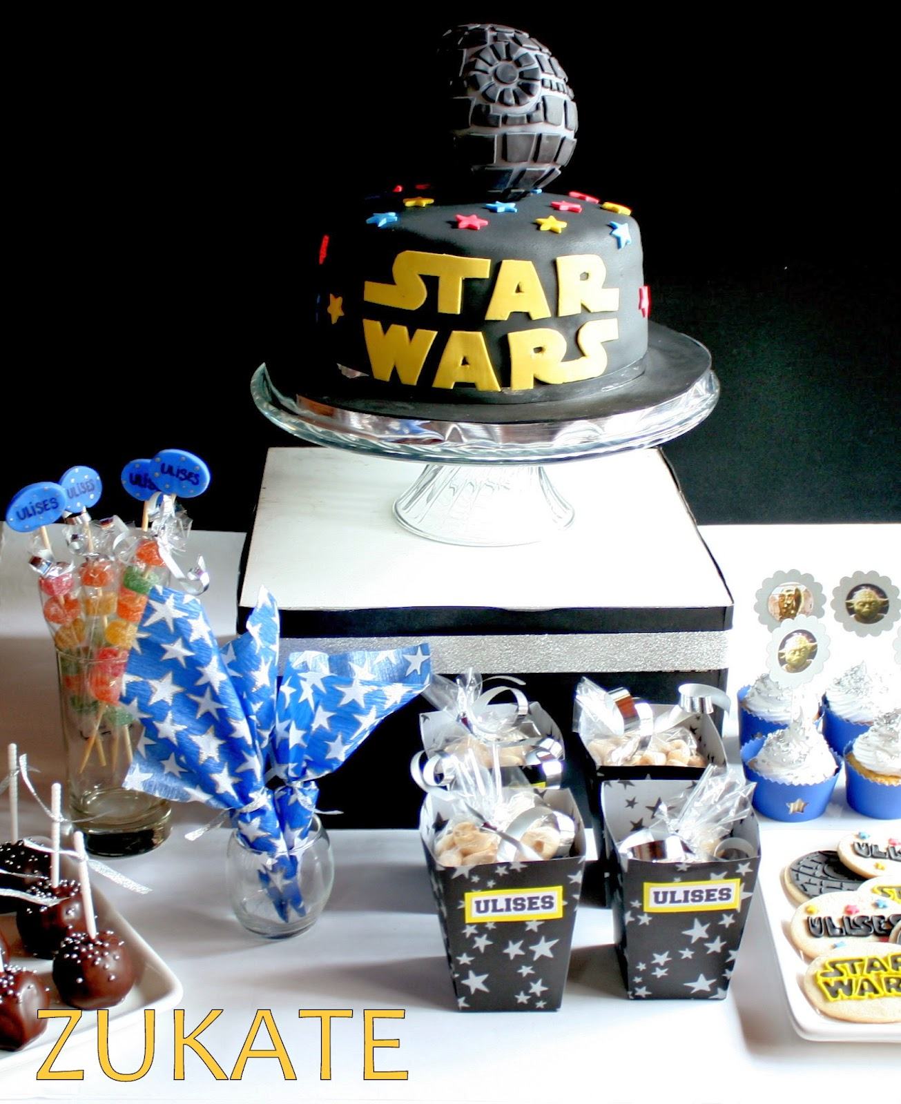 Mesa dulce de star wars para ulises zukate for Decoracion star wars