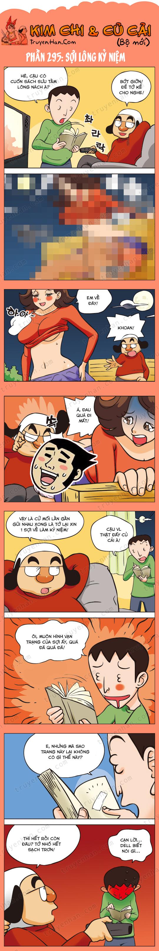 Kim Chi & Củ Cải (bộ mới) phần 295: Sộng lơi kỷ niệm