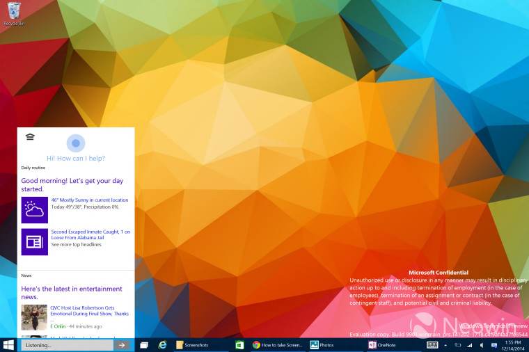 windows-10-leaked-build-cortana-search