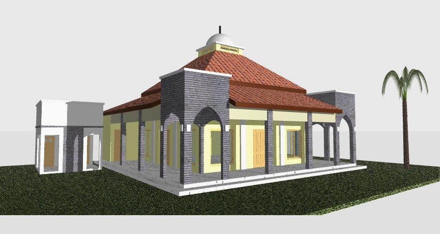 Kubah Masjid Modern Desain Masjid Desain Kubah Masjid Gambar Kubah