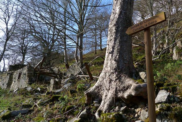 Pueblo abandonado de La Cueva - Piloña - Asturias