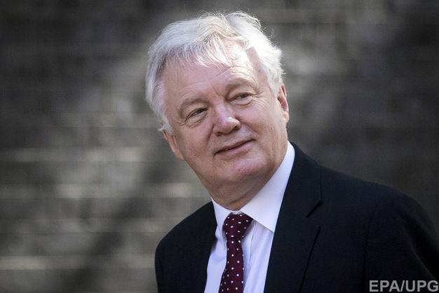 У Великобританії міністр з питань Brexit Девід Девіс пішов у відставку