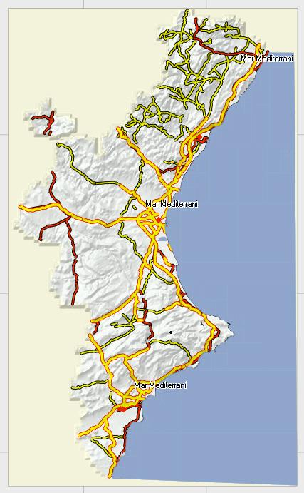 Mapa Topografico Comunidad Valenciana.Noticias Tecnologicas Tic Mapas Topograficos Comunidad