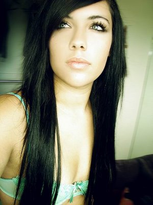 Peachy Girls Emo Hairstyle Long Hair Pictures Hairstyles Haircuts Short Hairstyles Gunalazisus