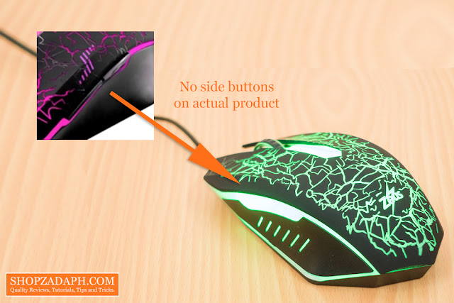 zeus m-110 gaming mouse from lazada