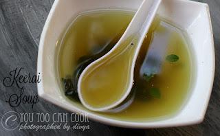 Keerai soup