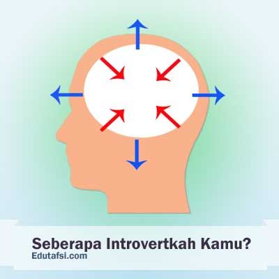 Introvert merupakan tipe kepribadian yang cenderung melihat ke dalam dirinya sendiri sesampai kemudian TES KEPRIBADIAN INTROVERT
