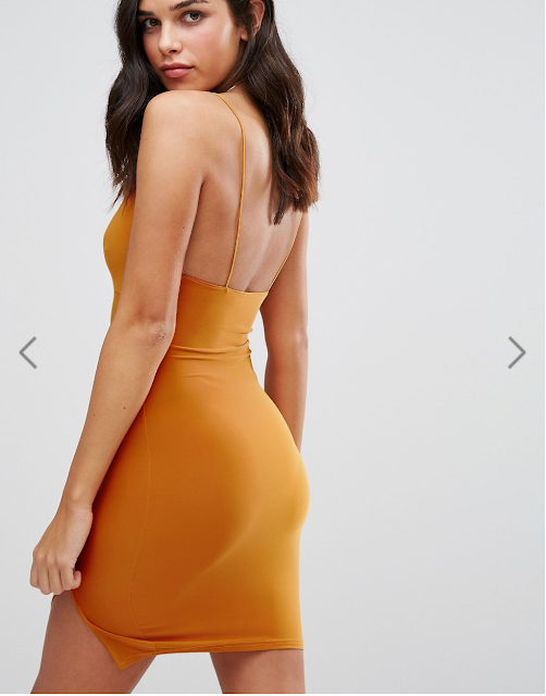 Robe asos orange