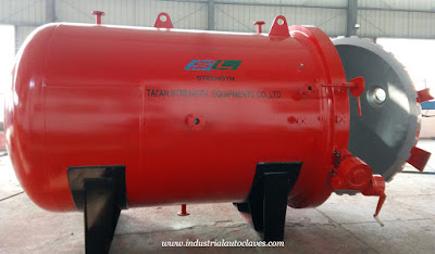 Industrial Autoclave Machine Exported to America