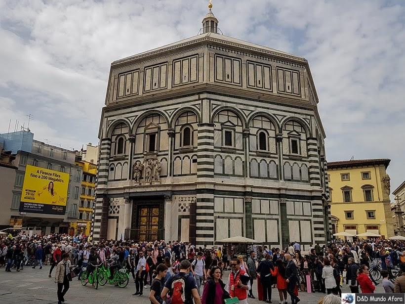 Batistério de São João - Diário de bordo: 2 dias em Florença