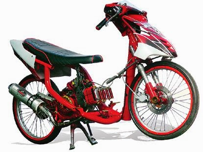 Gambar Motor Yamaha Mio Modif Drag Race  Rway Collection