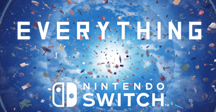 Everything By David OReilly Launches On January 10 For Nintendo Switch
