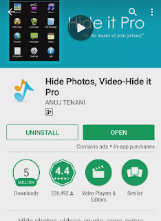 Hide Files Android very easily