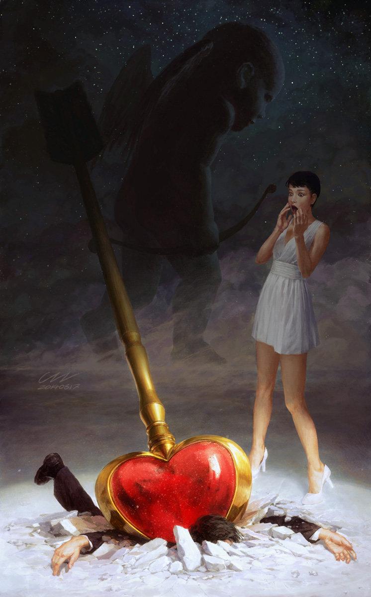 Digital Paintings By Zezhou Chen