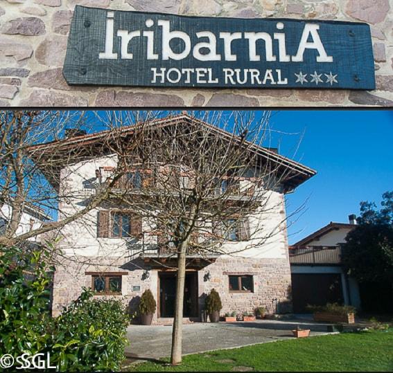 Hotel Iribarnia. Hotel rural con encanto en Navarra