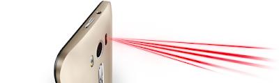 Asus zenfone 2 laser chup anh net nho laser