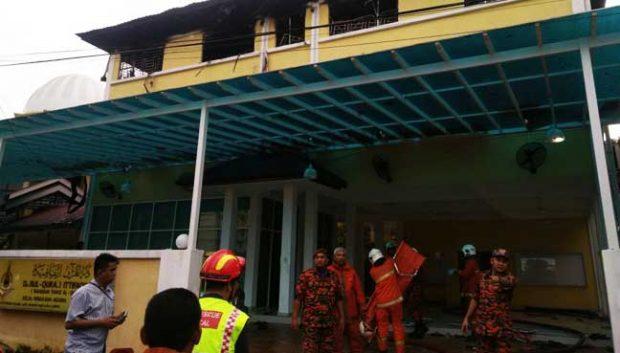Bermula dari Saling Ejek, Rumah Tahfidz Malaysia Ternyata Sengaja Dibakar