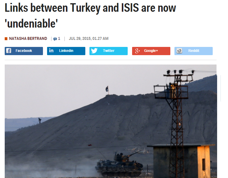 isis and turkey relationship