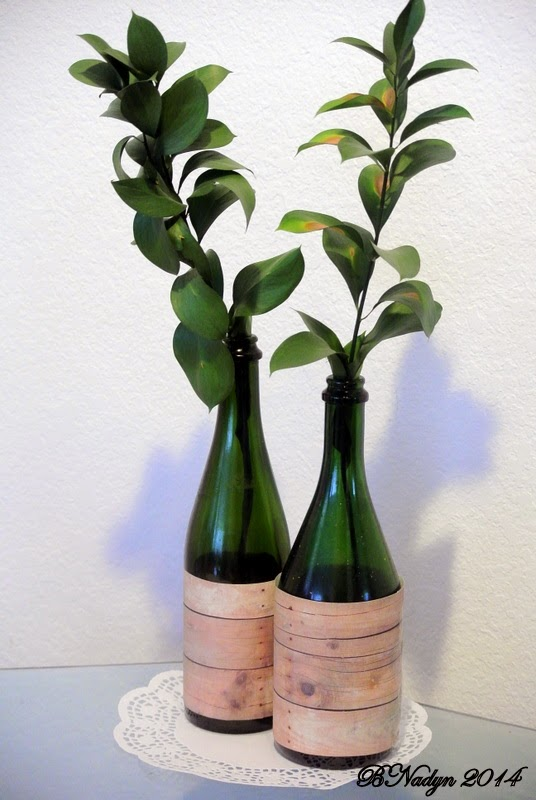 upcycle wine bottles, recycle wine bottles