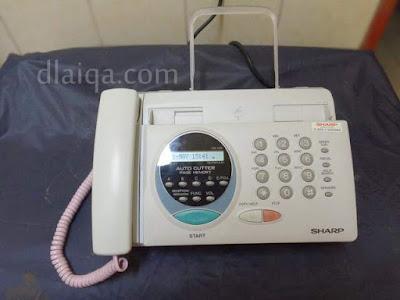 fax siap digunakan