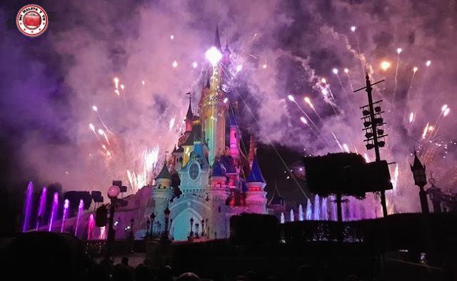 Disneyland Paris - Espectáculo nocturno
