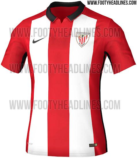 04c746d59778e Desveladas las camisetas del Athletic de Bilbao 2015 16 - La Jugada ...
