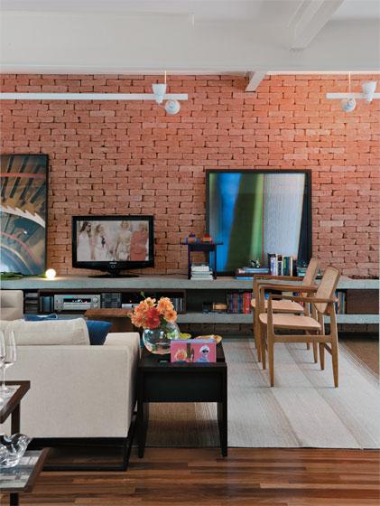 Oficina De Arquitetura Tijolinho Aparente Tijolo 224 Vista